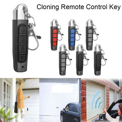 Universal Replacement Garage Door Car Gates Cloning Remote Control Key Fob433MHZ