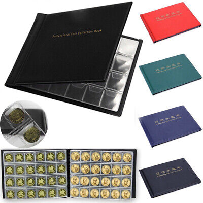 120/240 Album Coin Collection Storage Holder Money Penny Album Book Collecting