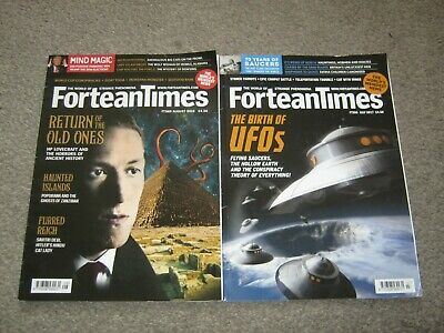 Fortean Times Magazines x 2. ISSUE 355,369