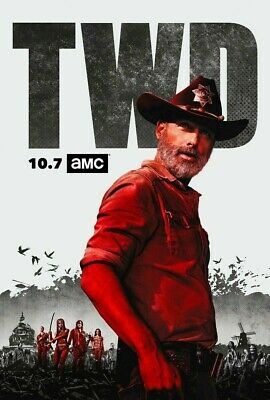 The Walking Dead Season 9 (DVD 5-Disc Set ) USA SELLER. Free and Fast Shipping!