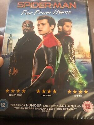 Spiderman Far From Home Dvd Region 2 New And Sealed