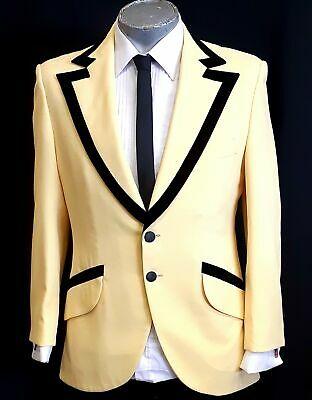 Dinner Jacket, Polyester/ cotton 1960's by 'Lord West', USA size L