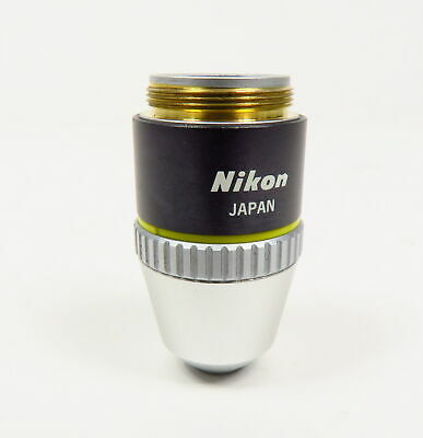 Nikon E Plan 10X 0.25 160 Negative Microscope Objective Lens Made In Japan