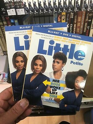 LITTLE BLU RAY + DVD + DIGITAL +SLIPCOVER - BRAND NEW & SEALED- Fast Shipping!