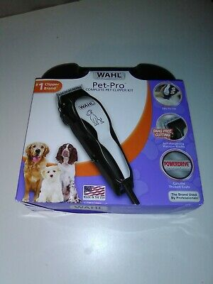 WAHL Clipper Pet-Pro Dog Grooming Kitm 9281-210 Used  Free Shipping