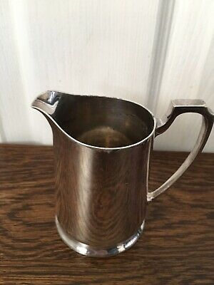 Small 10cms Vintage Harrods Silver Plated Milk/cream Jug
