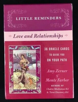 Little Reminders Love & Relationships Oracle Cards by Zerner & Farber (2007)