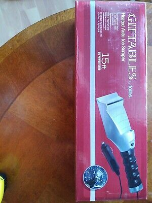 Totes Heated Auto Ice Scapper 15ft DC Power Cord