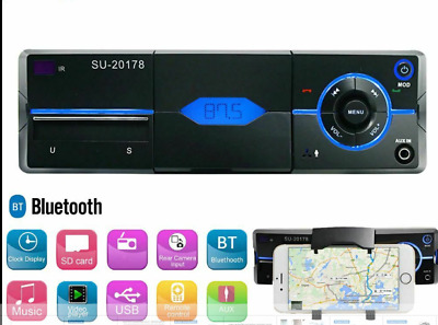 car stereo radio multimedia player SU-20178. Bluetooth,usb,aux in,mp3,phone dock
