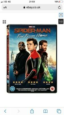 Spider-Man - Far from Home [DVD]