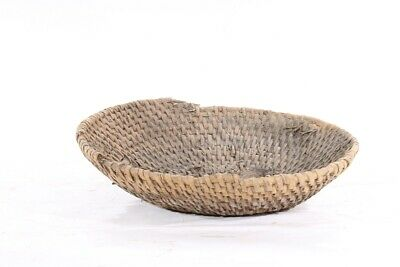 1x Old Rustic Plant Bowl Flowerpot Decor Old Vintage Container Bowl Peasant
