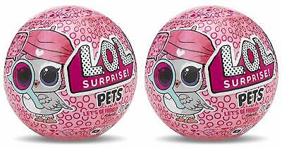 2 PACK LOL SURPRISE PETS EYE SPY SERIES - Brand New & Sealed! Fast Shiping!