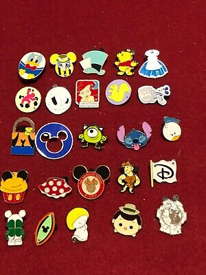 25 Disney pins Assorted Trading A  As Seen Lot x