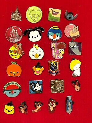 25  Disney pins Assorted Trading F  As Seen  Lot x