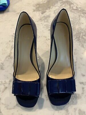 Kate Spade Patent Leather Pumps with bow S7.5