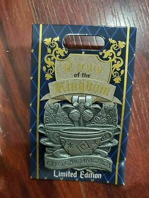 Pin of the Month Disney Parks (Crests of the Kingdom - Mad Tea Party) LE 2000