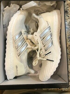 Adidas UltraBOOST Game Of Thrones House Targaryen White Womens EE3711 Size 10