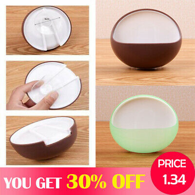 Plastic Suction Cup Bathroom Shower Toothbrush Box Portable Soap Dishes Holder