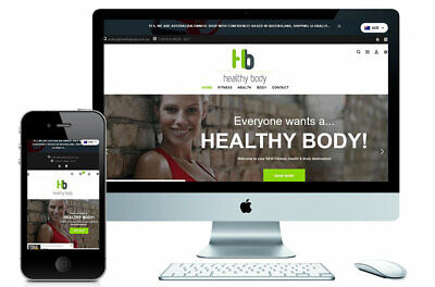 HEALTHYBODY.COM.AU – Online Ecommerce Store $$$! Live Now! 2nd Income?