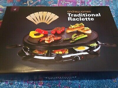Andrew James Traditional Raclette Grill / Swiss party grill