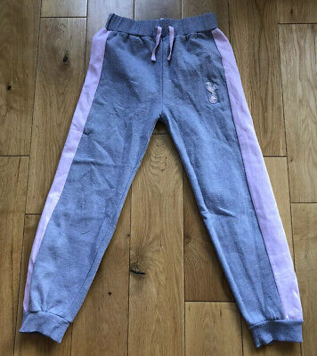 Girls Tottenham/Spurs Pink/Grey Joggers Age 9-10