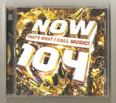 Now That's What I Call Music 104 (CD) Various Artists - Brand New & Sealed 19075