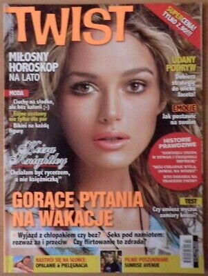 Twist 2007 Keira Knightley cover