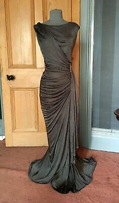 """Beautiful Bnwt Phase Eight """"Donna"""" Long Ivy Evening Dress, Size 14"""