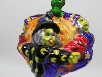 "Christopher Radko Halloween Witches Ornament ""Crone Capades"""