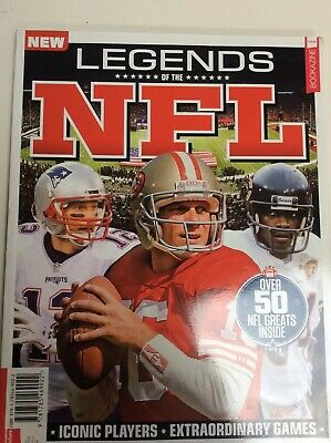 Legends Of The NFL Special Magazine