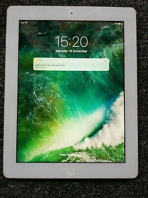 Apple iPad 4th Generation 32GB, Wi-Fi  9.7in - WHITE. 3 Months Warranty