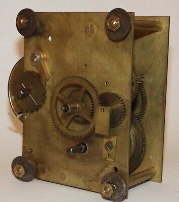 8-Day Fusee Clock Movement - For Spares Or Repair