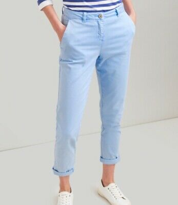 Joules Hesford Chinos French Blue Size UK 18 BNWT NEW