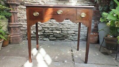 Superb Georgian mahogany lowboy