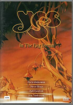 Yes DVD In The Big Dream Brand New Sealed Rare