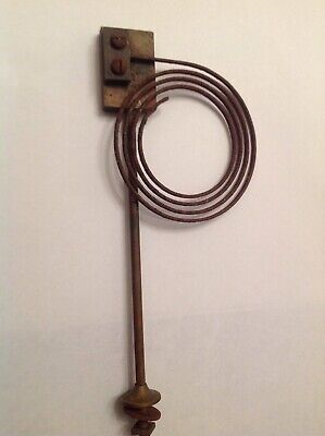 Clock Chime Gong Brass 205X80mm  Antique Mantle Clock Spare Part