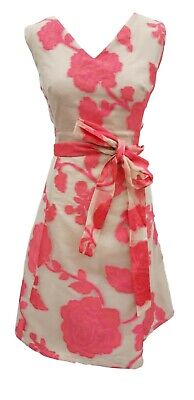Calista floral burnout fit and flare dress Size 16 £150!!!
