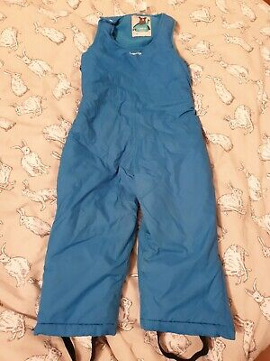 Decathalon Salopettes Snow Suit Trousers Warm Waterproof Blue 3 Years