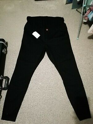 ASOS Ridley Tall Long Maternity Jeans Black Size 20