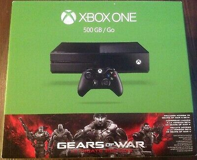 BRAND NEW Microsoft Xbox One Gears of War: Ultimate Edition 500GB Black Console