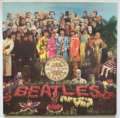 The Beatles - Sgt. Peppers - 1967 - Vinyl Record LP - Parlophone Yellow Disc