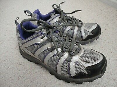 Halfshoes Columbia Omni-grip HIKING SNEAKERS shoes big girls sz 5 purple gray