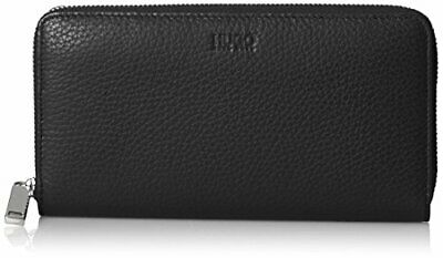 HUGO Mayfair Zip Around, Portefeuilles femme, Noir (Black), 1.5(Noir (Black))