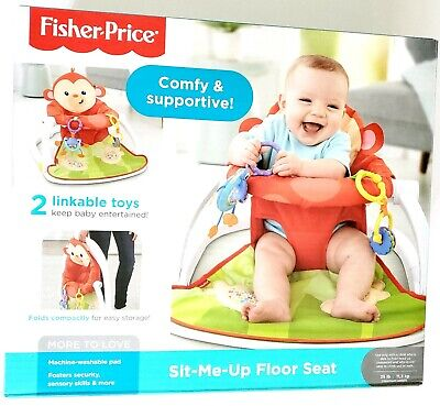 Fisher- Sit-me-up Floor Seat Multicolor