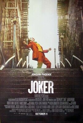 JOKER great original 27x40 D/S movie poster (s01)