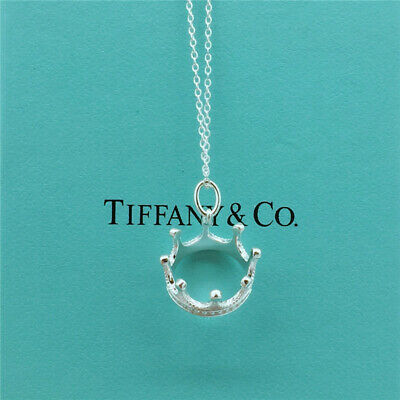 Tiffany & Co.Sterling Silver Crown Princess Charm Pendant