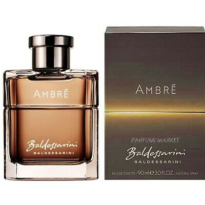 Baldessarini AMBRE 90 ml Eau de Toilette EDT Spray   NEU+OVP+GÜNSTIG