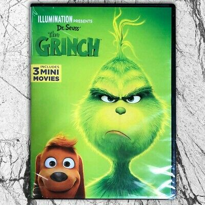 The Grinch : complete series (2019, DVD,1-Disc,Region 1 US)Fast shipping