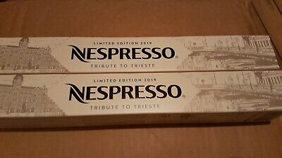 20 Capsules NESPRESSO  LIMITED EDITION TRIBUTE TO TRIESTE