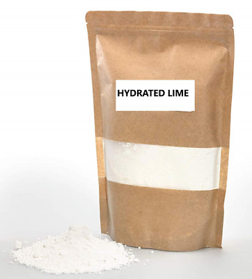 Hydrated Lime Calcium Hydroxide Pure Premium Ca(OH)2 Pickling Slaked Lime